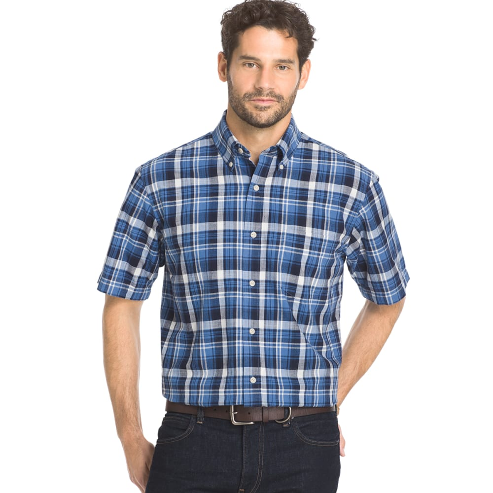 ARROW Men's Sea Jack Plaid Shirt - NAVY