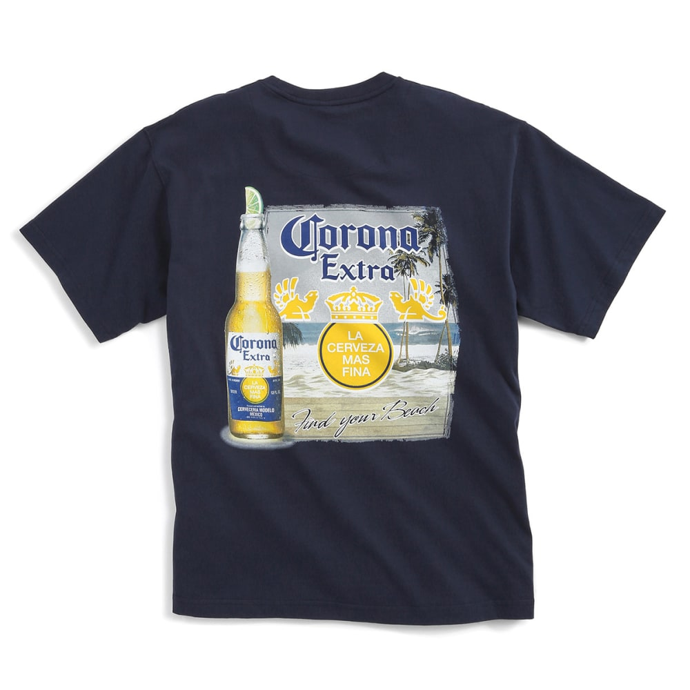 NEWPORT BLUE Men's Corona Tee - NAVY