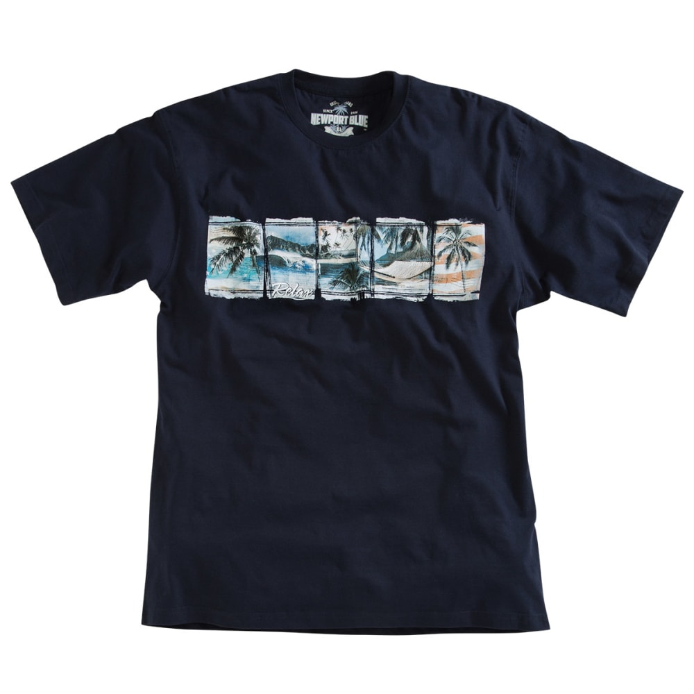 NEWPORT BLUE Men's Patriotic Paradise Tee - NAVY
