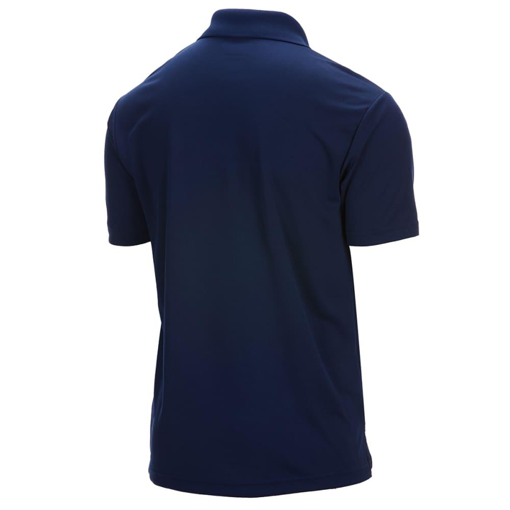 PGA Men's Airflux Polo - CAVIAR-002