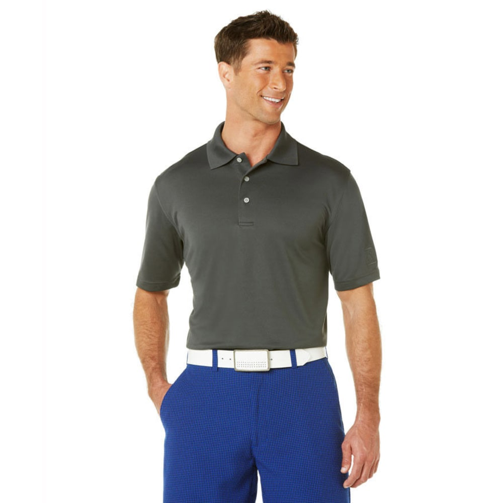 PGA Men's Airflux Polo - ASPHALT-067