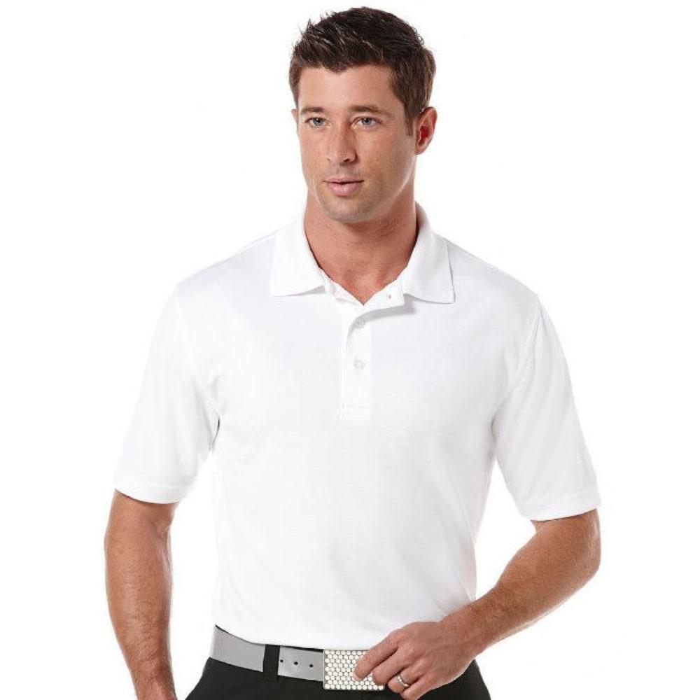 Pga Men's Airflux Polo - White, M