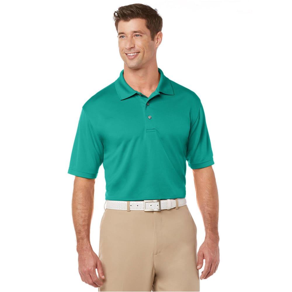 PGA Men's Airflux Polo - BRIGHT AQUA-496