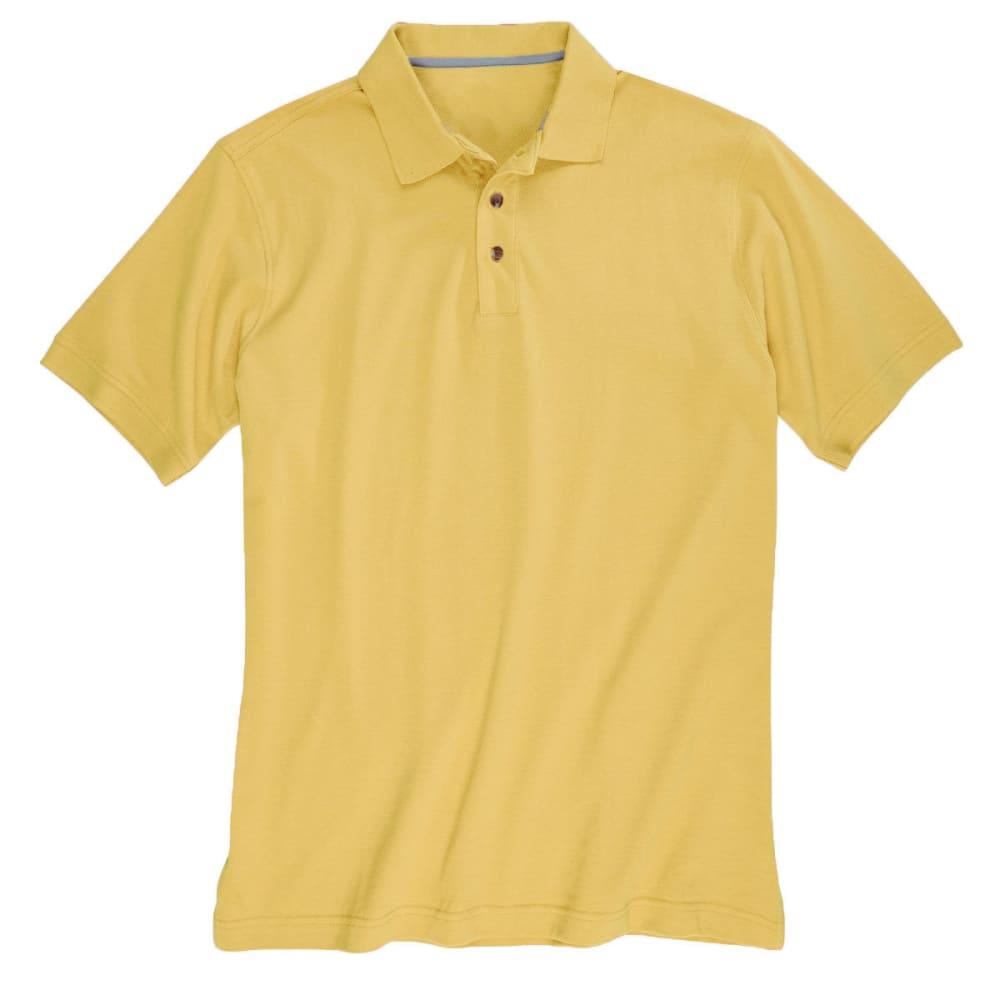 BCC Men's Pique Polo - YELLOW