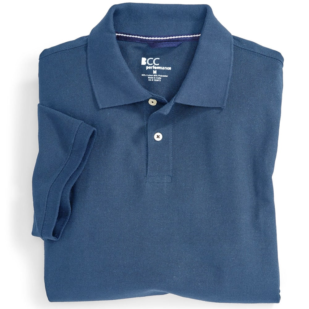 BCC Men's Blended Polo Shirt - NAUT BLUE