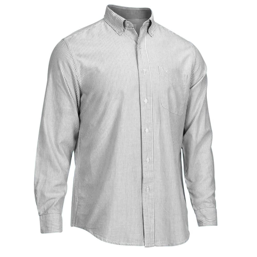 NATURAL BASIX Men's Stripe Shirt - BLACK