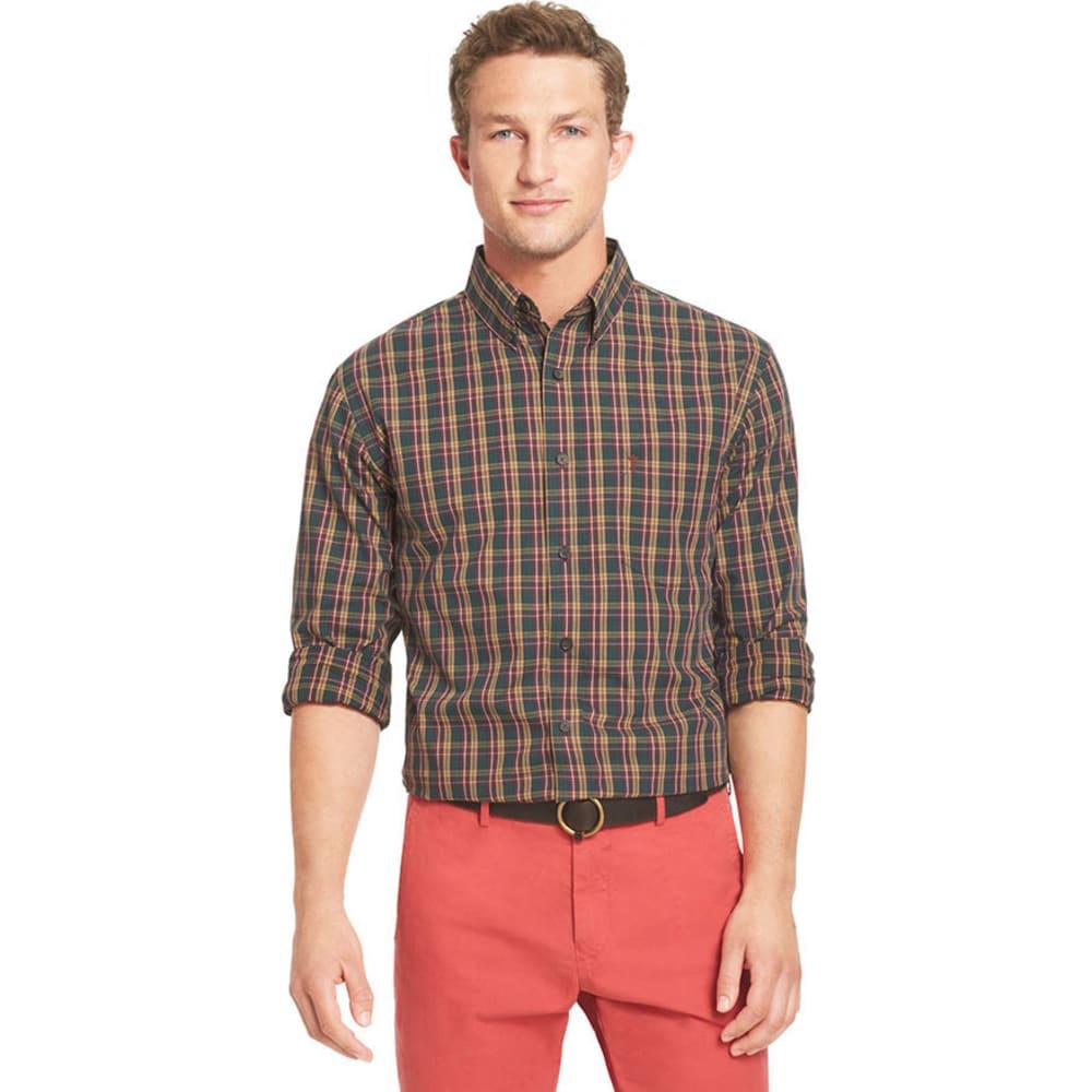 ARROW Men's Woven Shirt - BLOWOUT - BURGUNDY