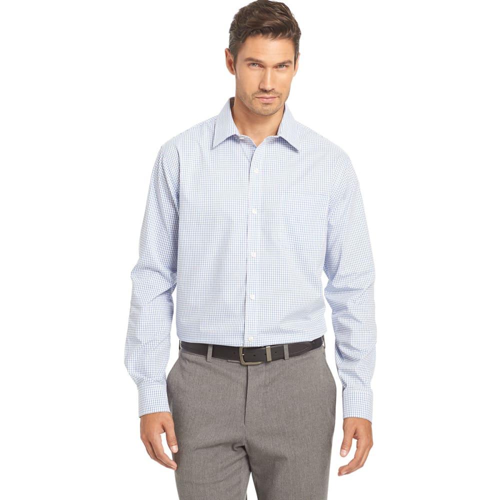 VAN HEUSEN Men's Woven Traveler Shirt S