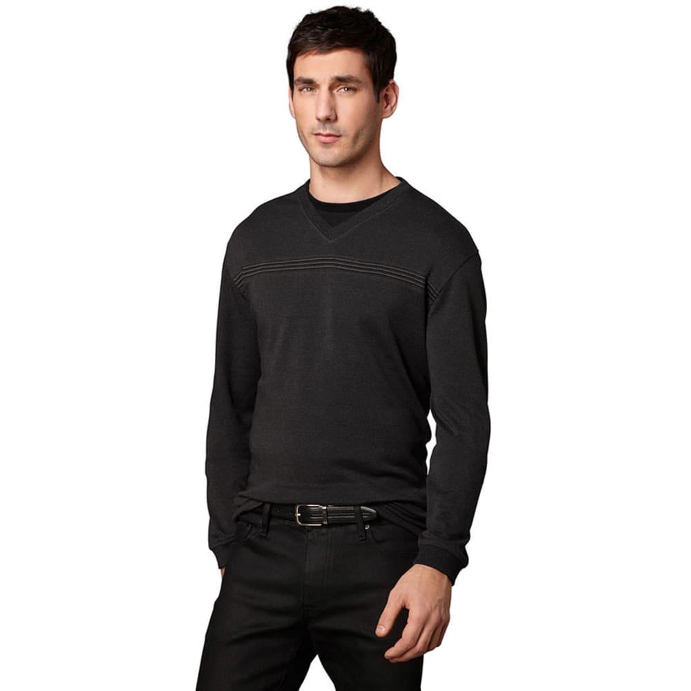 VAN HEUSEN Men's Jaspe Sweater - BLACK