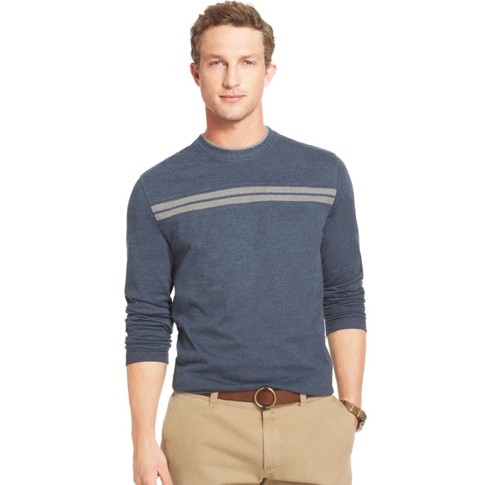 ARROW Men's Big & Tall Crew Doubler - MIDNIGHT BLUE