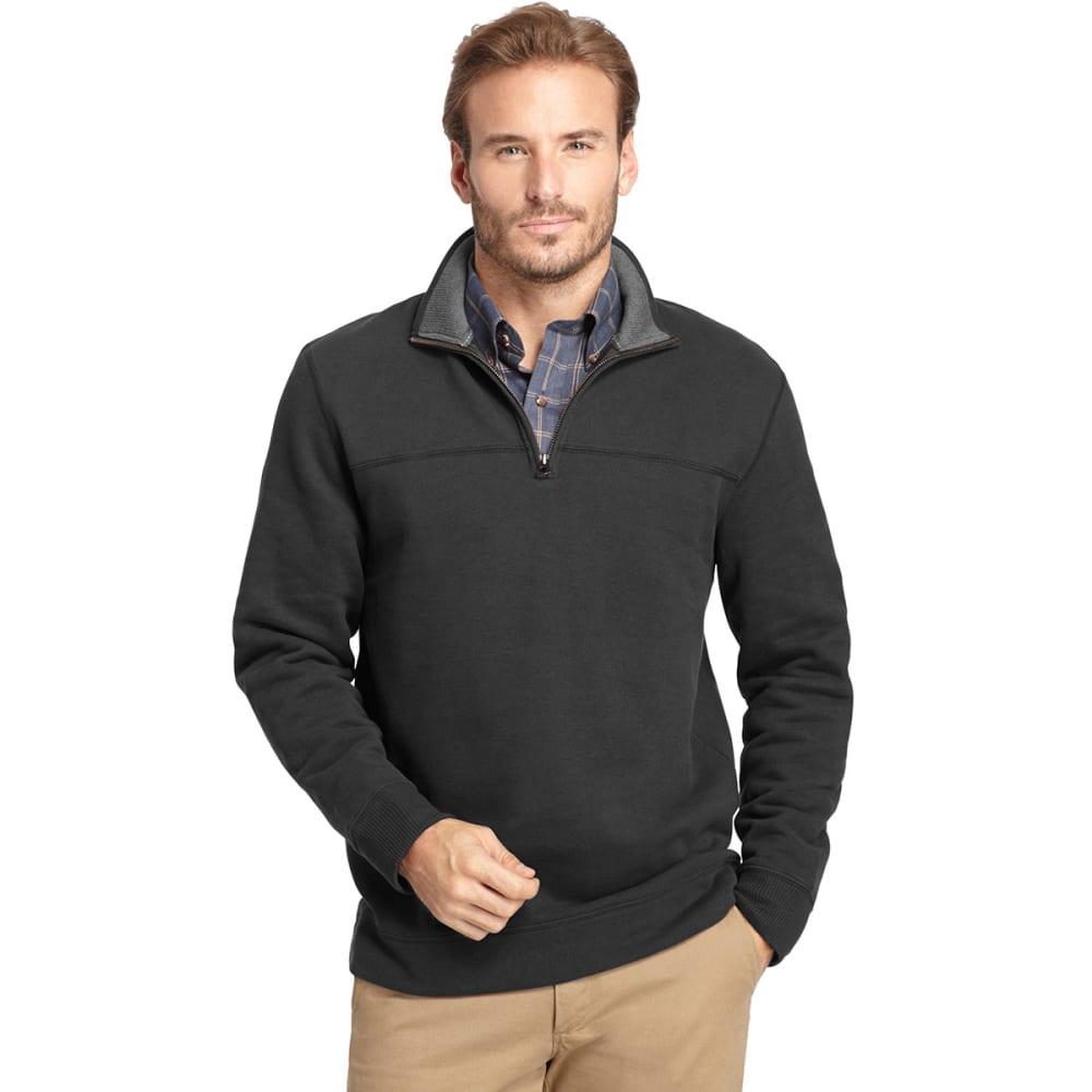 ARROW Sueded ¼ Zip Pullover - CARBON HEATHER