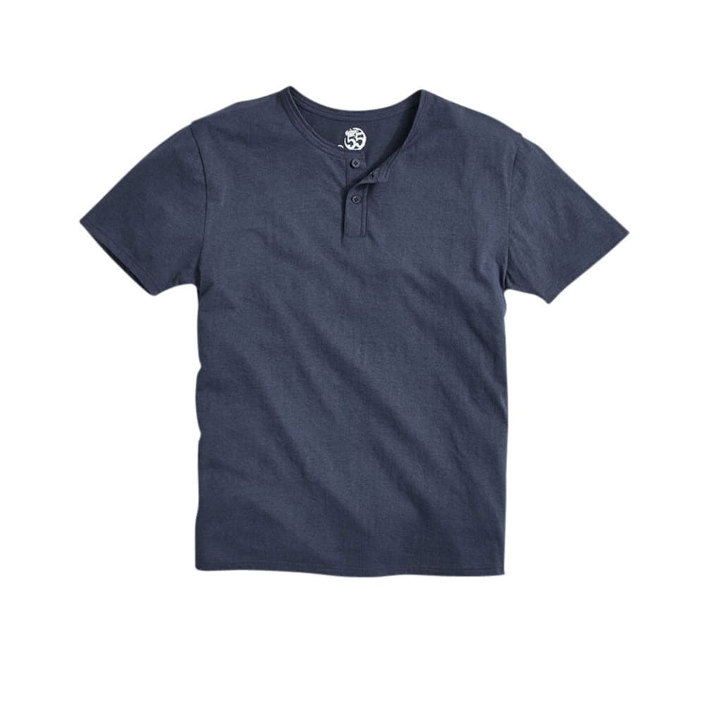 D55 Young Men's Henley Knit Shirt - SKYDIVER