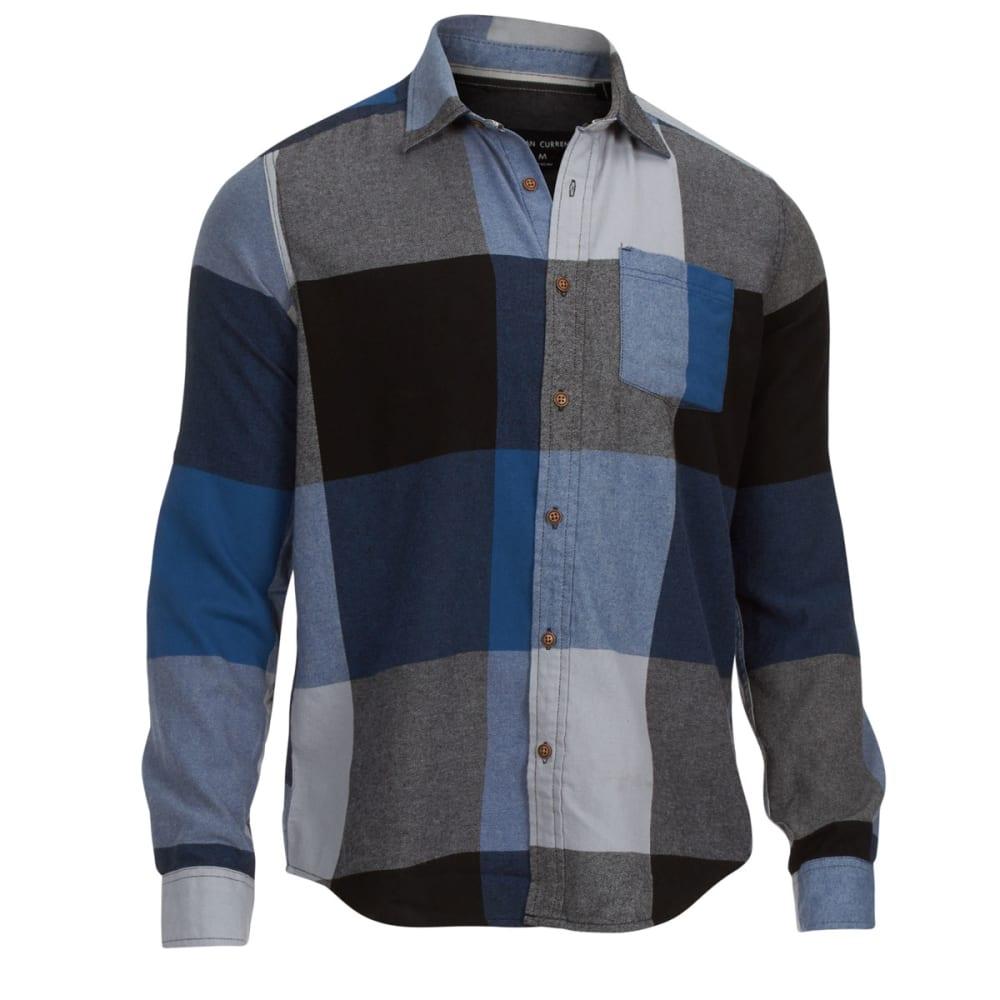 OCEAN CURRENT Men's Flannel Shirt - BLUE