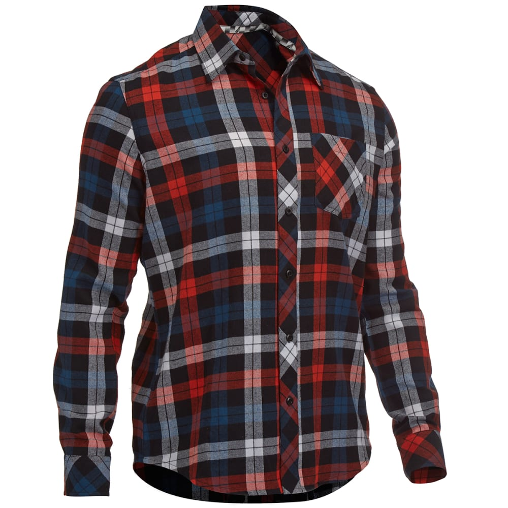 OCEAN CURRENT Guys' Terri Sedona Flannel - ORANGE