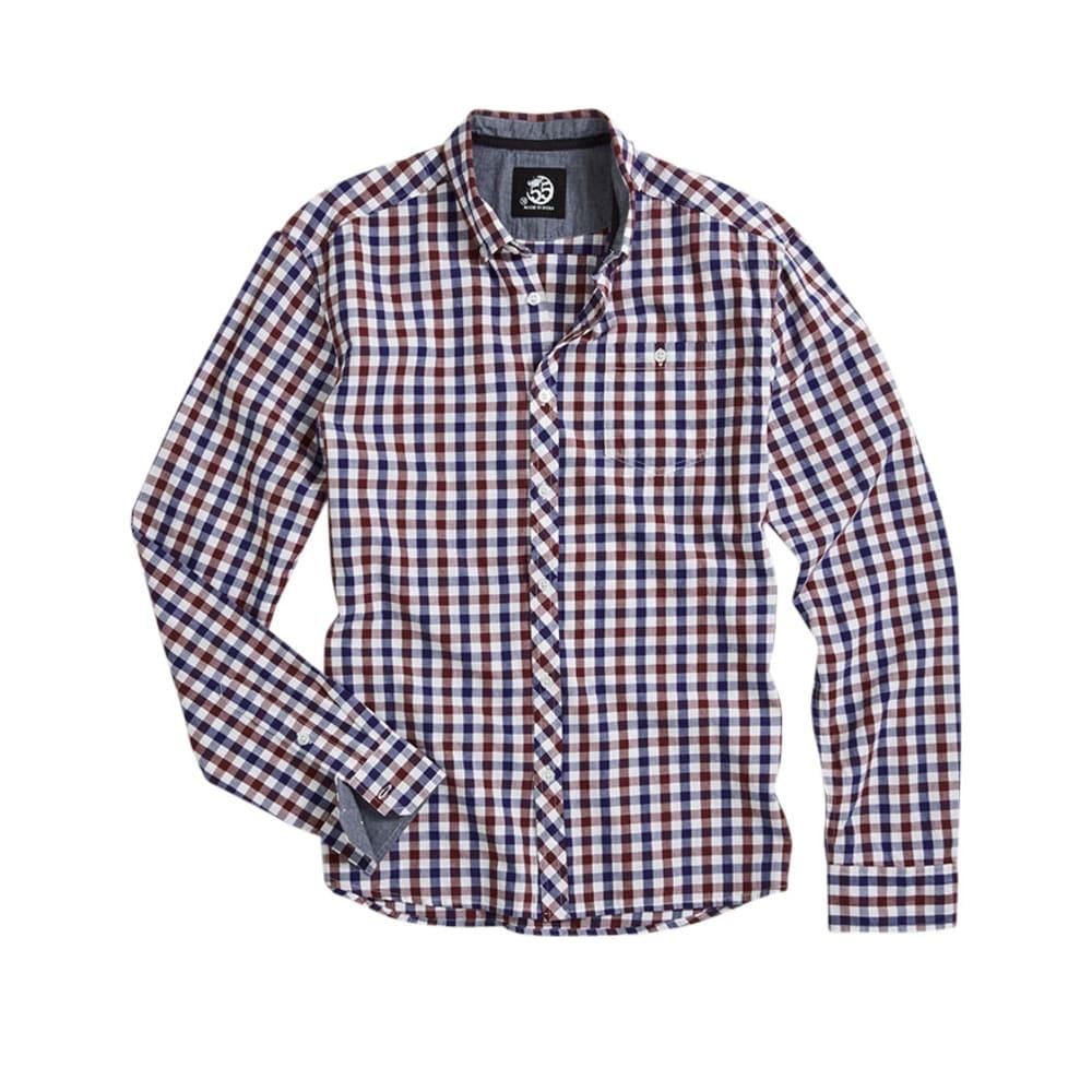D55 Guys' Gingham Shirt - SYRAH