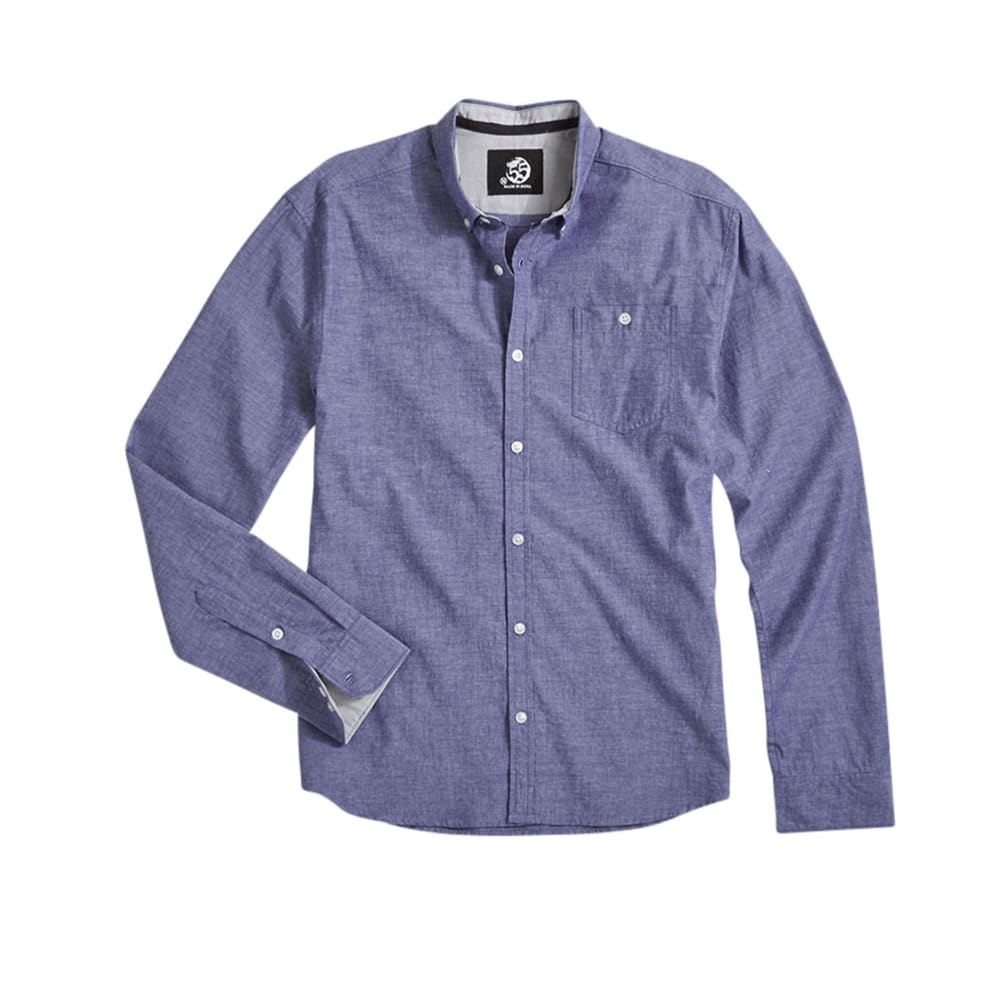 D55 Guys' Chambray Shirt - SODALITE