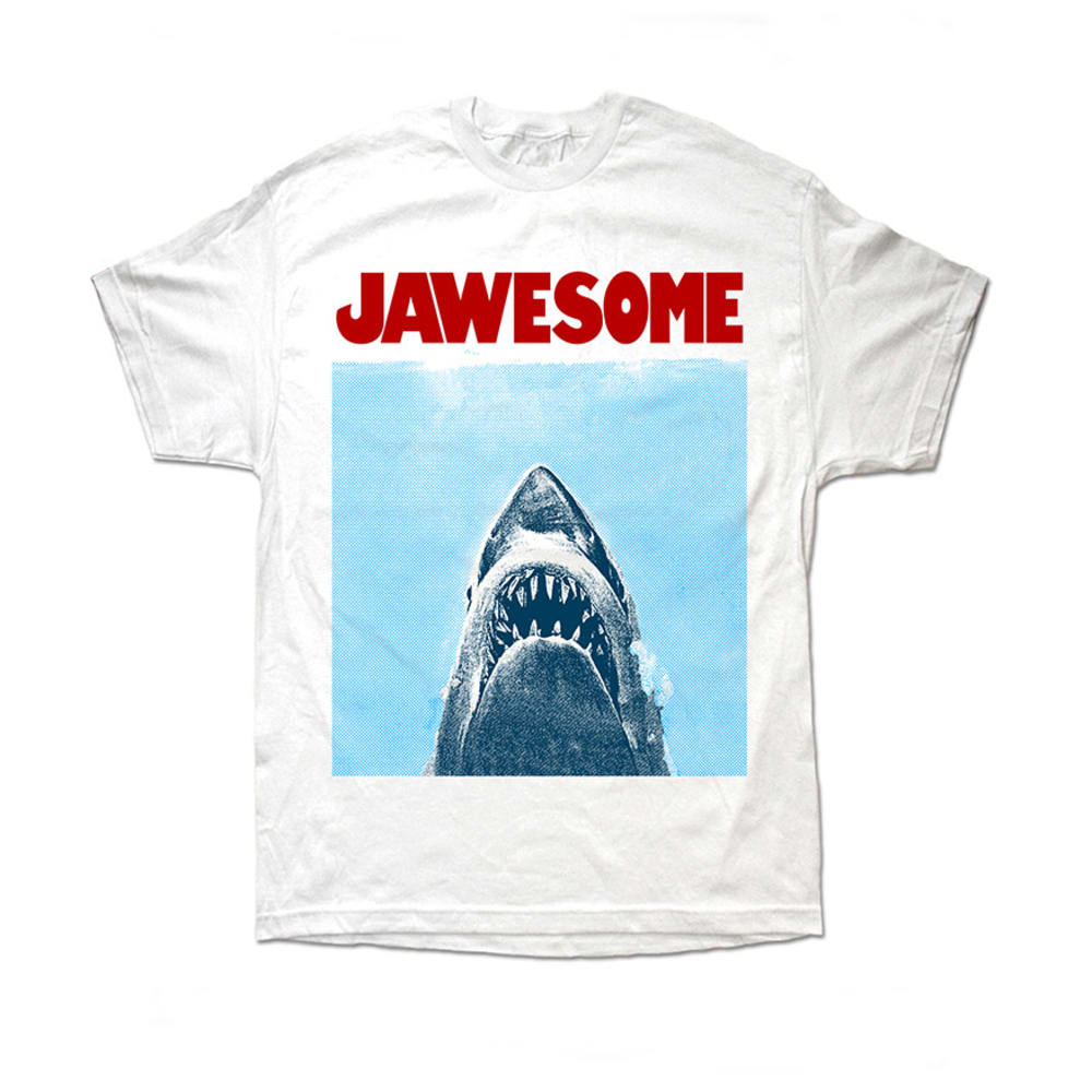 JAWESOME Guys' Graphic Tee- BLOWOUT - WHITE