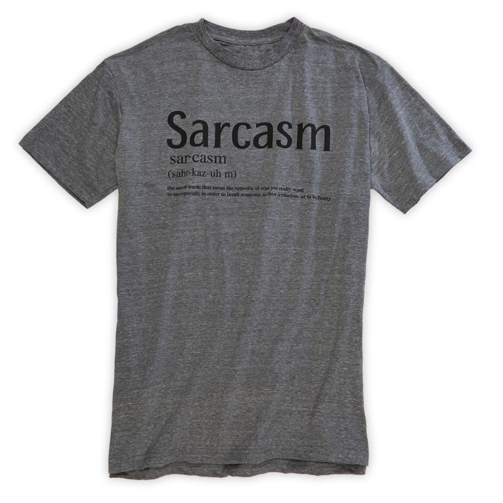 SAVVY Guys' Sarcasm Tee - ONYX