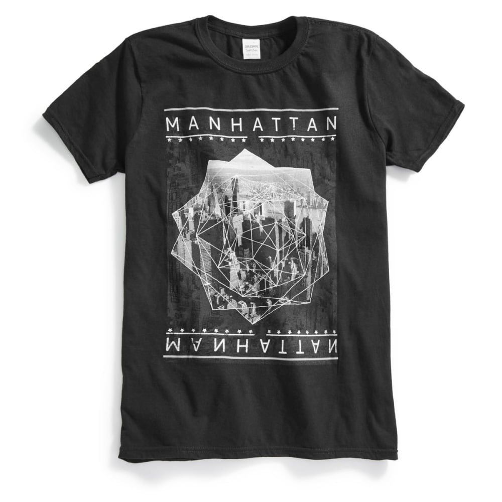 OCEAN CURRENT Guys' Manhattan Short-Sleeve Tee - BLACK