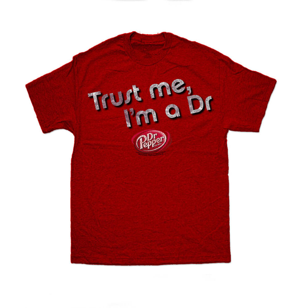DR PEPPER Guys' Trust Me, I'm a Dr. Tee - MAROON
