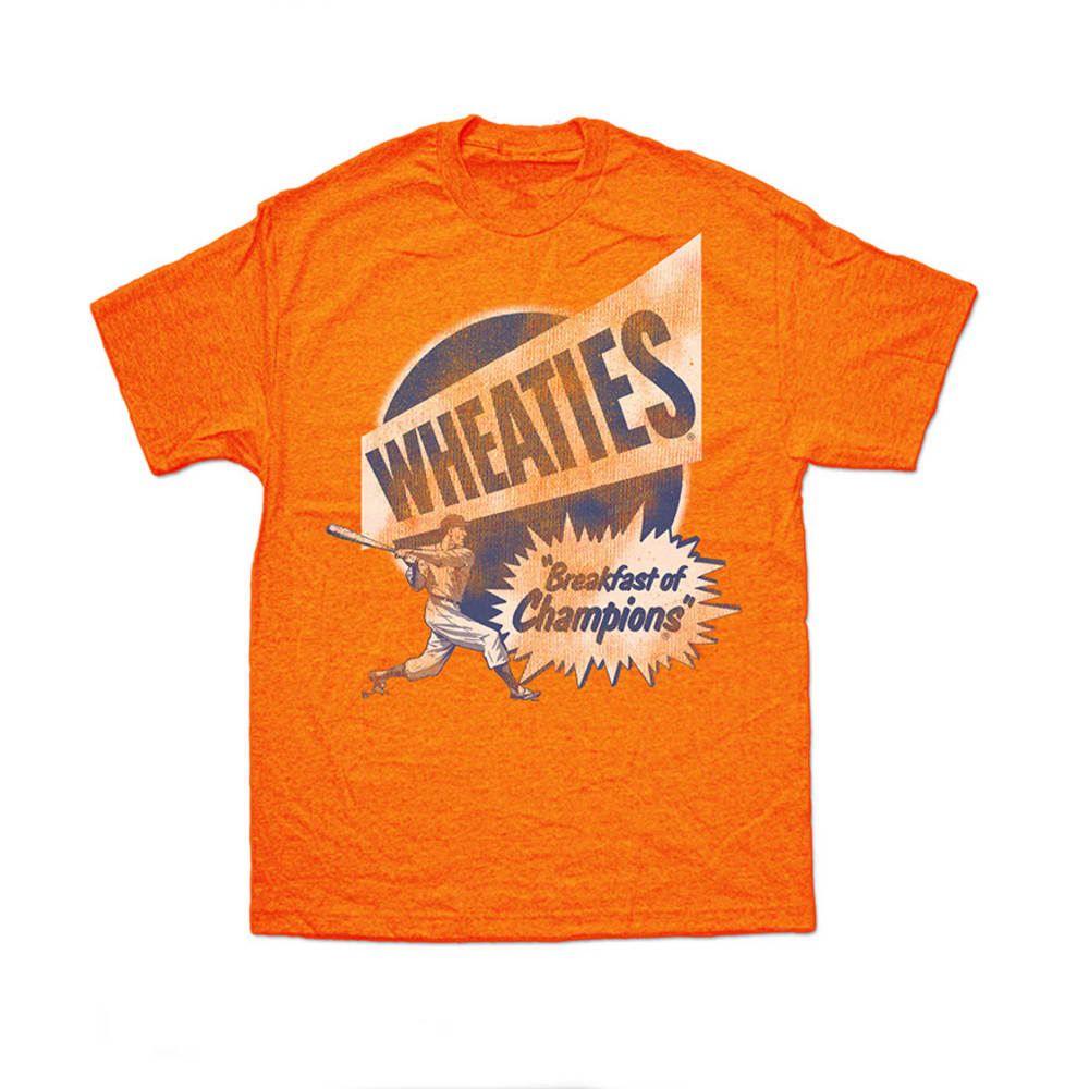 WHEATIES Guys' Graphic Tee - ORANGE HEATHER