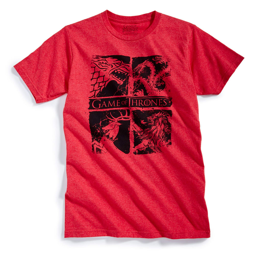 GAME OF THRONES Guys' Short-Sleeve Tee - RED