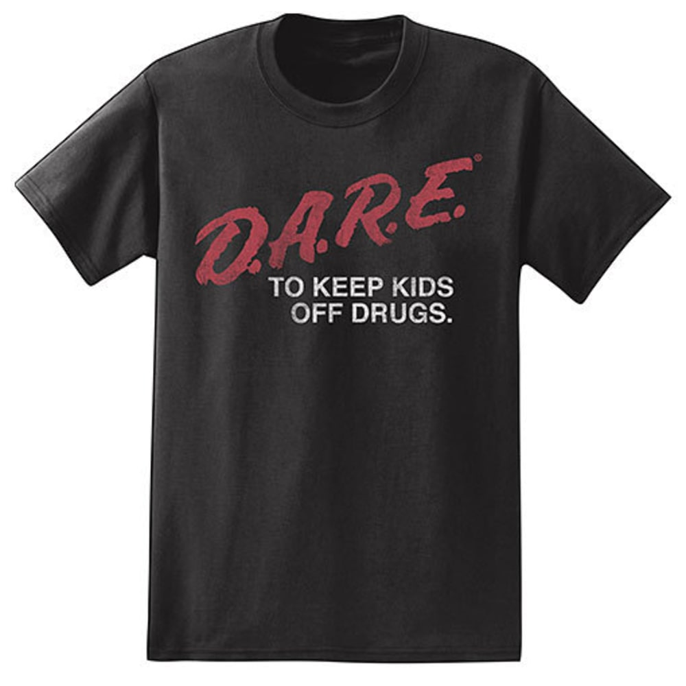 ISAAC MORRIS Guys' D.A.R.E. Short-Sleeve Tee - BLACK