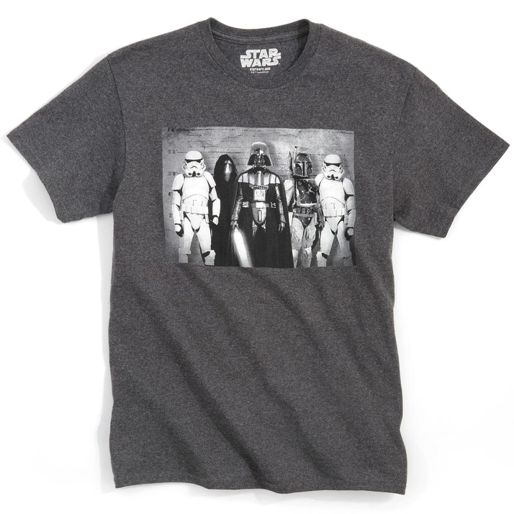 STAR WARS Men's Evil Line Up Tee Shirt - BLACK