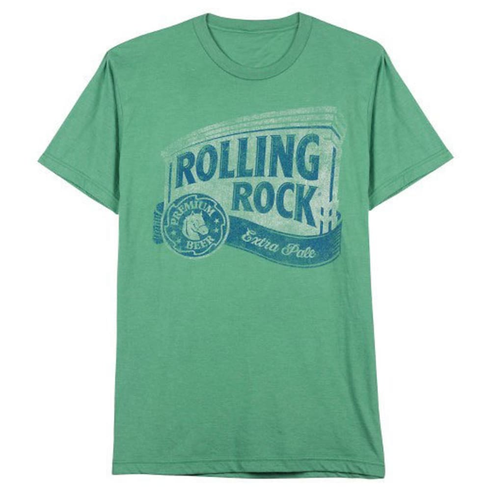 HYBRID Guys' Rolling Rock Short-Sleeve Tee - KELLY GREEN