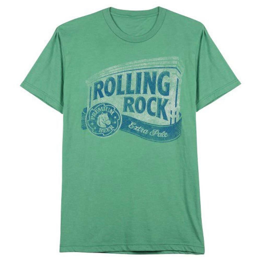 HYBRID Guys' Rolling Rock Short-Sleeve Tee - KELLY GREEN