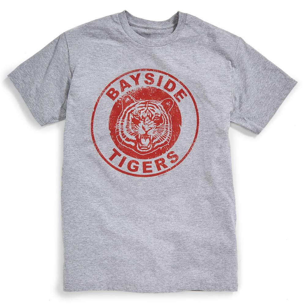 ISAAC MORRIS Guys' Bayside Tigers Tee - ASPHALT HEATHER