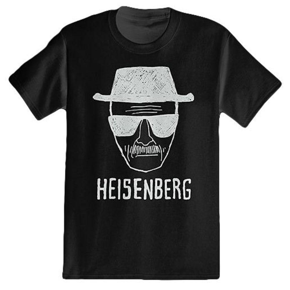 ISAAC MORRIS Guys' Breaking Bad – Heisenberg Short-Sleeve Tee - BLACK