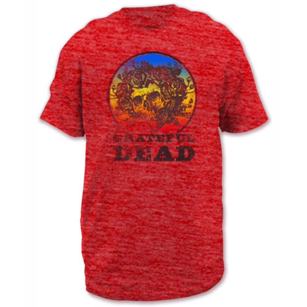 HYBRID Guys' Grateful Dead Tee - RED