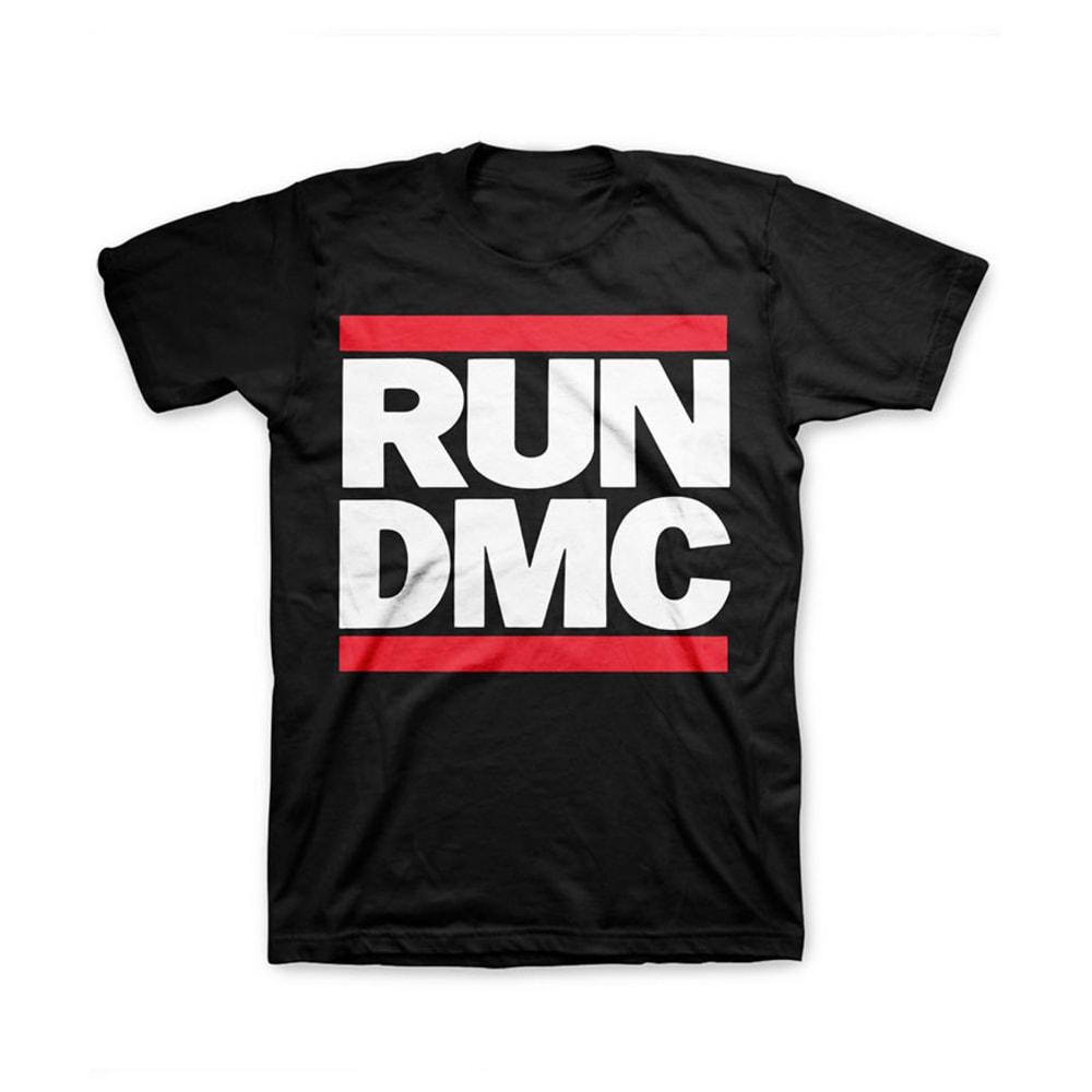 RUN DMC Guys' T-Shirt - BLACK
