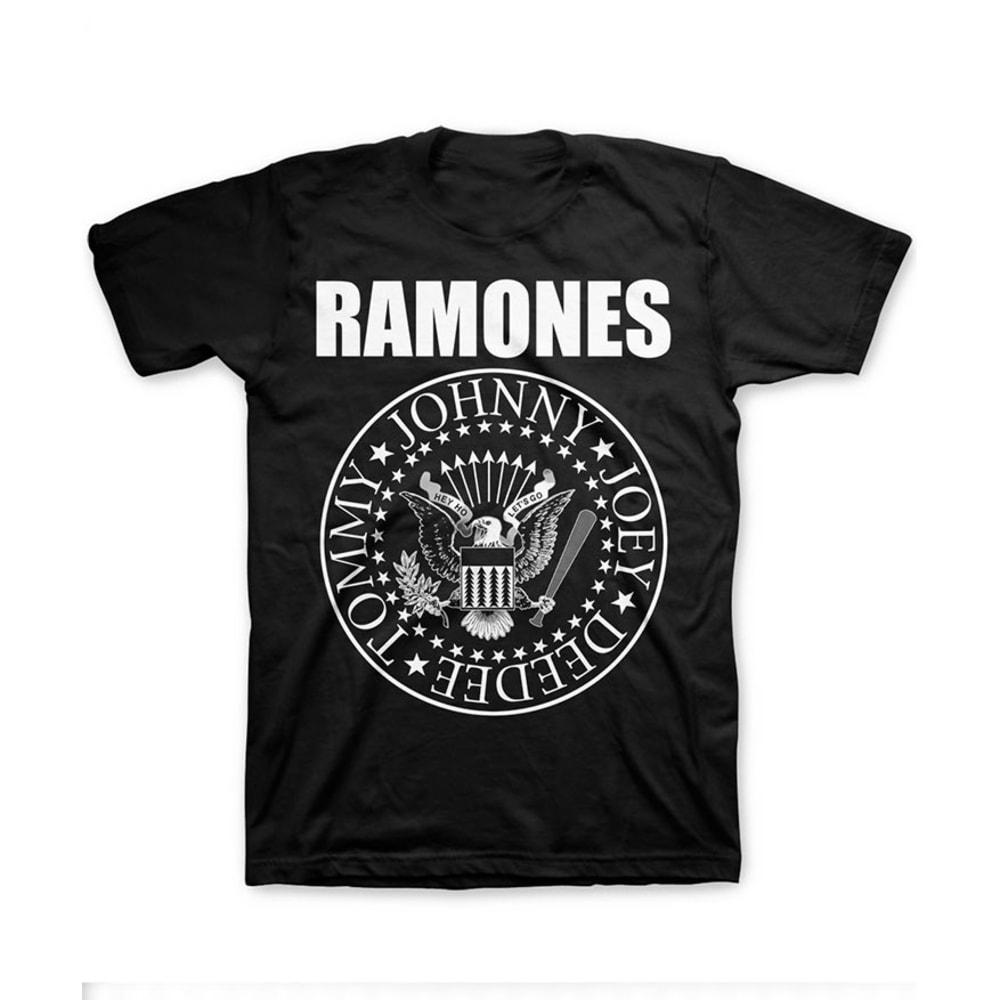 THE RAMONES Men's T-Shirt - BLACK