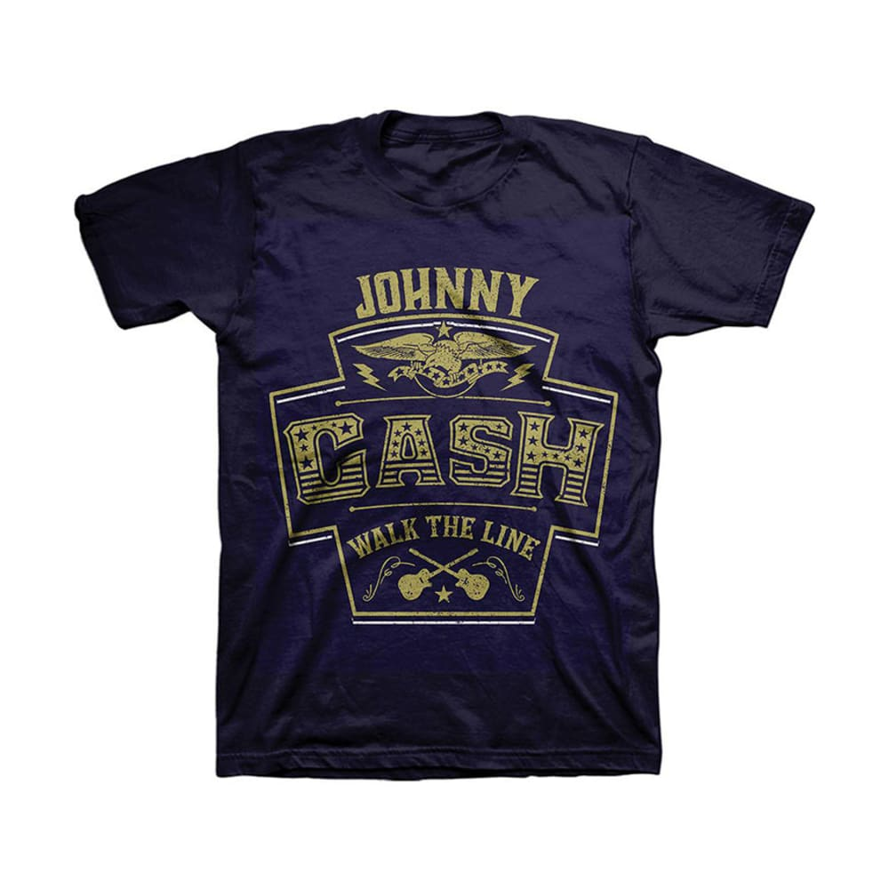 JOHNNY CASH Guys' Graphic Tee - NAVY