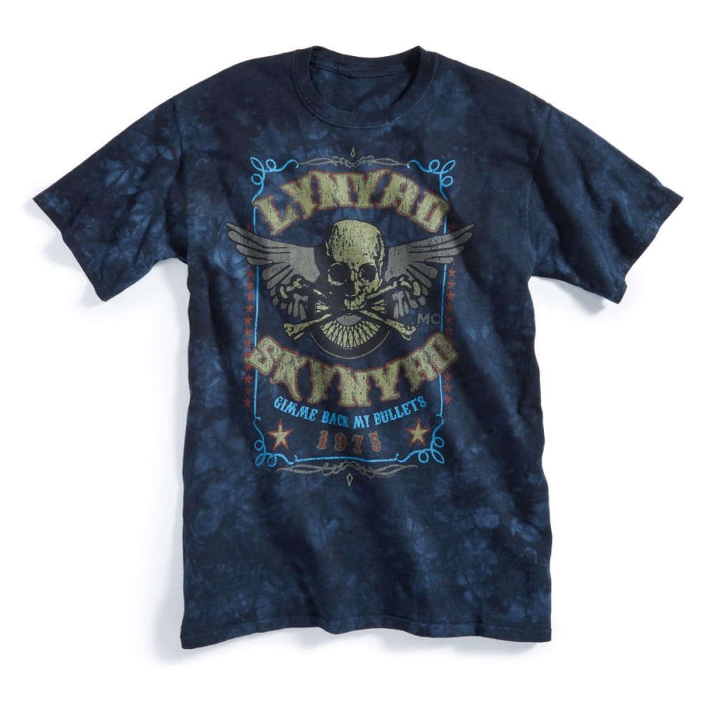 LYNRD SKYNRD Guys' Tie Dye Tee - BLUE MULTI