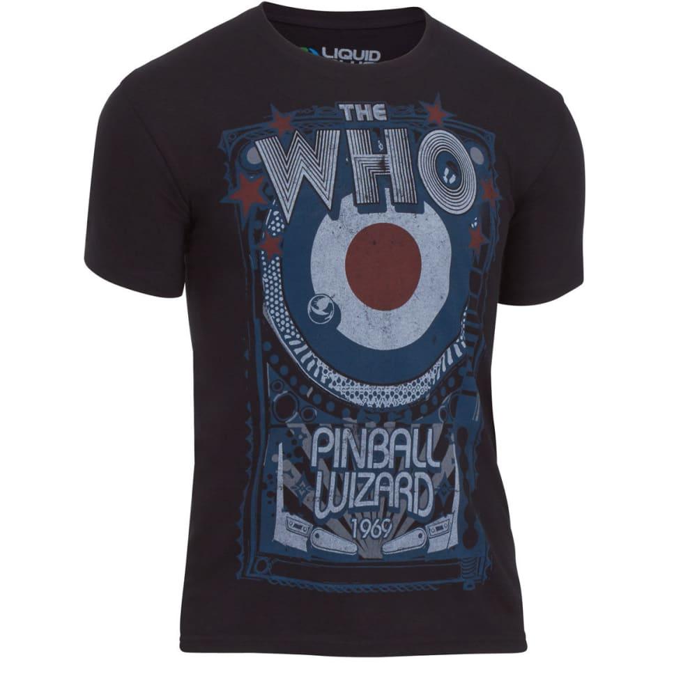 LIQUID BLUE Men's The Who Pinball Wizard Tee Shirt - BLACK