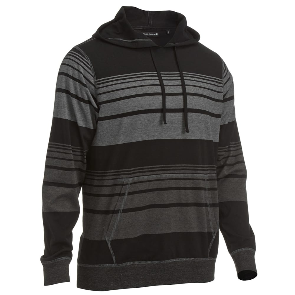OCEAN CURRENT Men's Echo Hooded Knit - BLACK