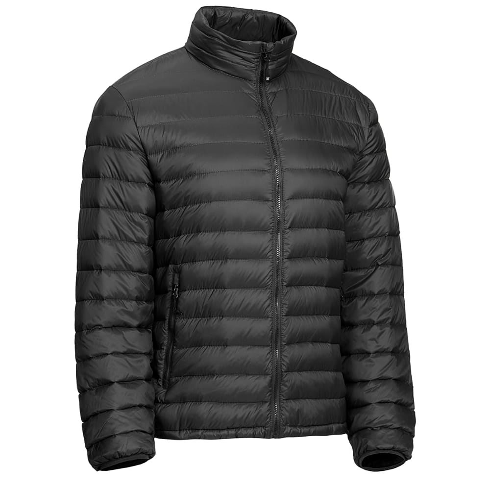 32 DEGREES Men's Packable Down Jacket - BLACK