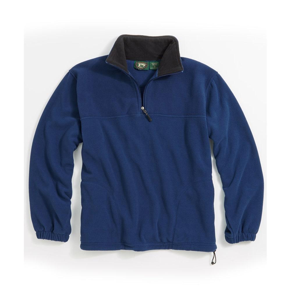 PACIFIC TEAZE Young Men's 1/4-Zip Promo Fleece - BLUE