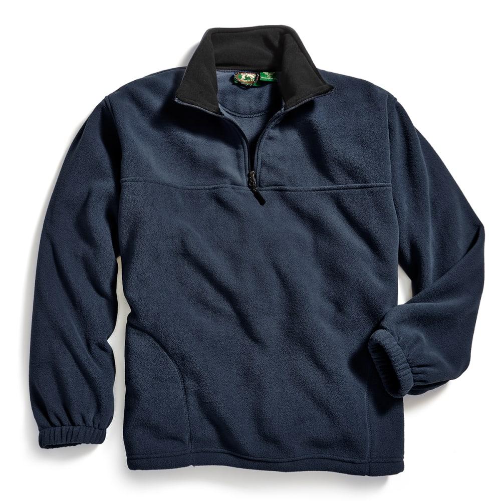 STILLWATER SUPPLY CO. Men's ¼ Zip Fleece Jacket - NAVY
