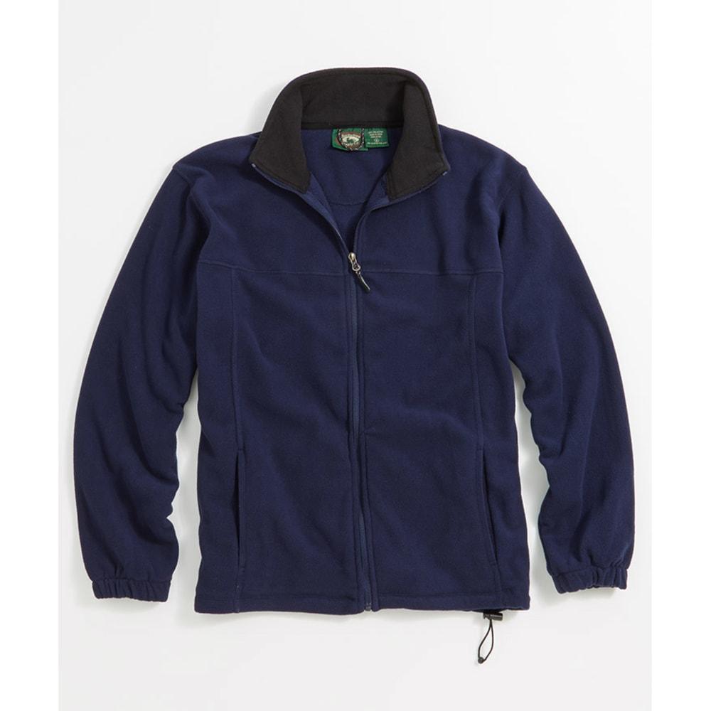 STILLWATER SUPPLY Men's Full Zip Fleece - NAVY