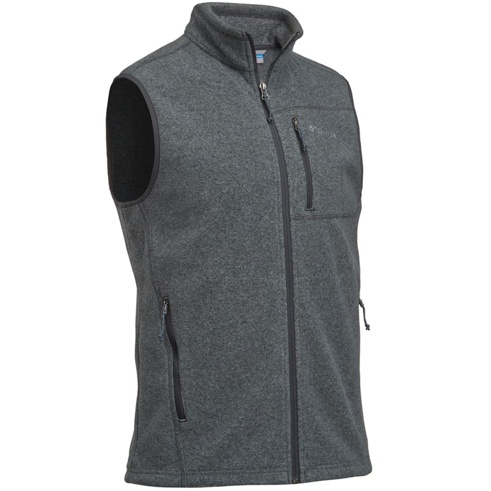 COLUMBIA Men's Cascades Explorer™ Fleece Vest - CHARCOAL
