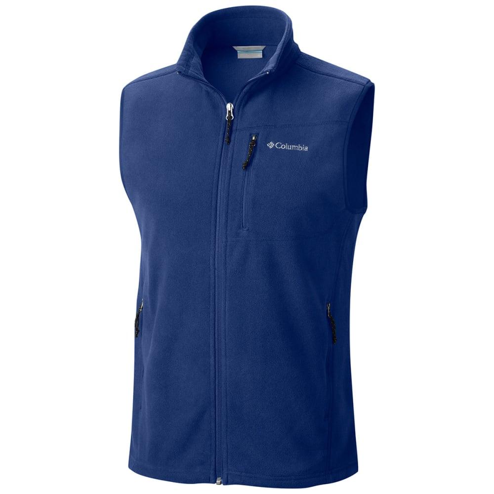 COLUMBIA Men's Cascades Explorer™ Fleece Vest - COLUMBIA NAVY