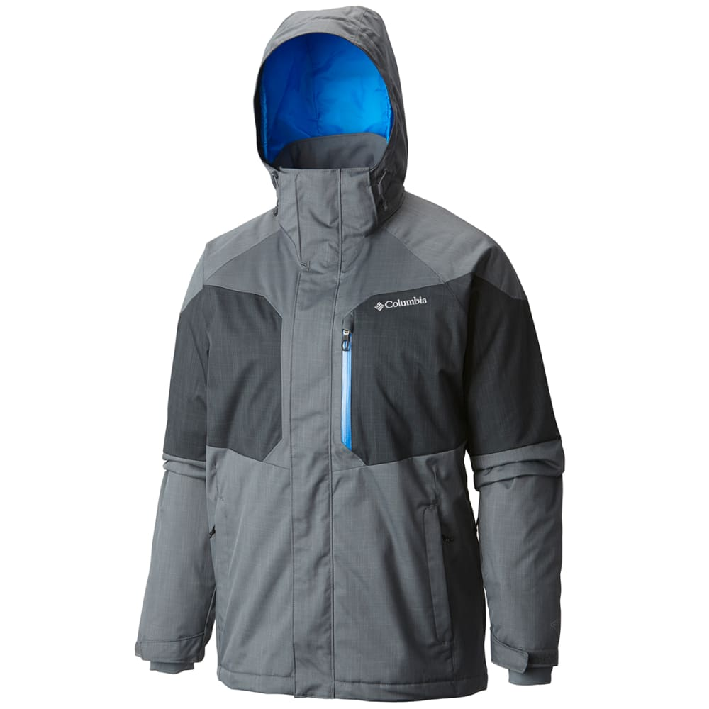 COLUMBIA Men's Alpine Action Jacket - 055-GRAPHITE/SUPER B