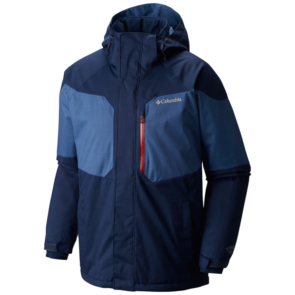 COLUMBIA Men's Alpine Action Jacket - 464-COLLEGIATE NAVY