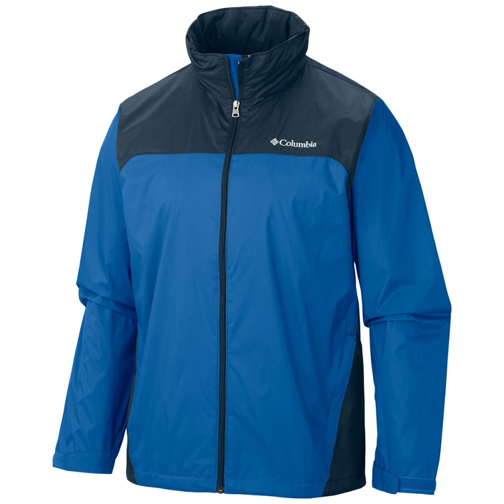 COLUMBIA Men's Glennaker Lake Rain Jacket - BLUE JAY/NAVY-072