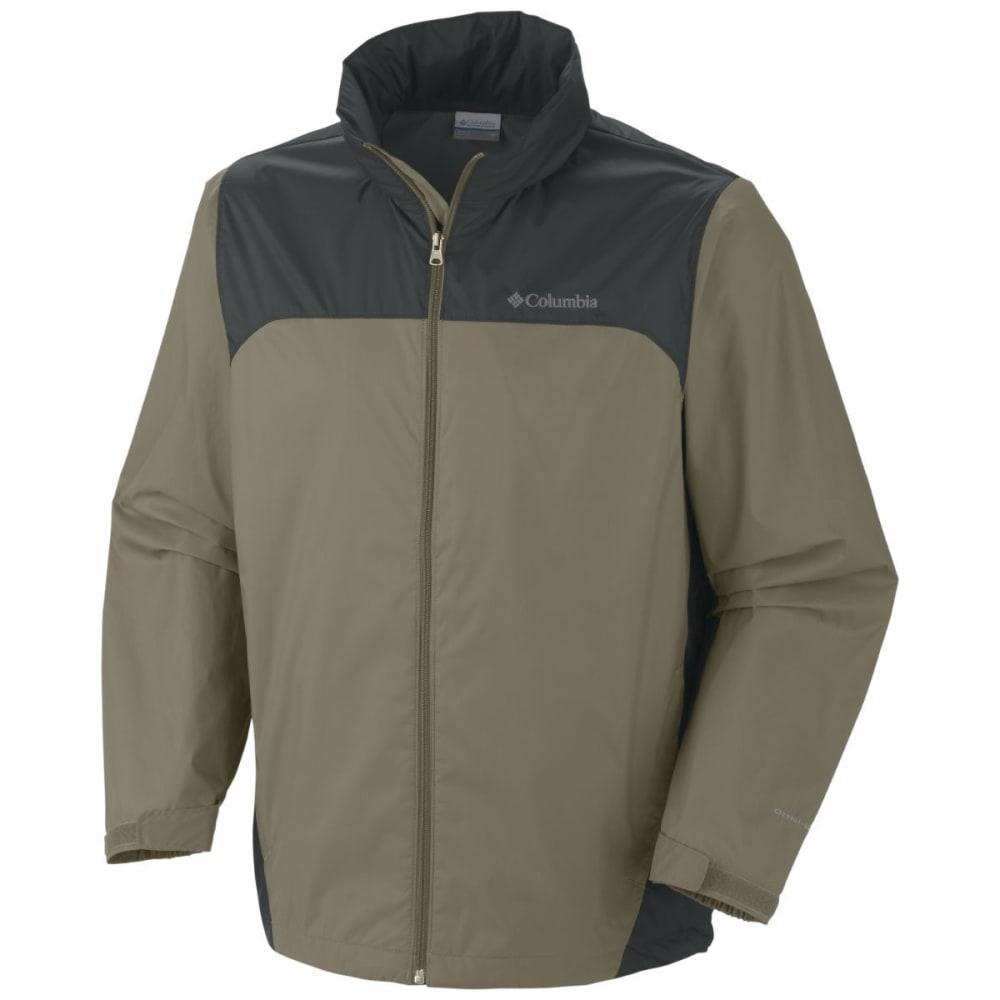 COLUMBIA Men's Glennaker Lake Rain Jacket - WHITE/CHINCHILLA