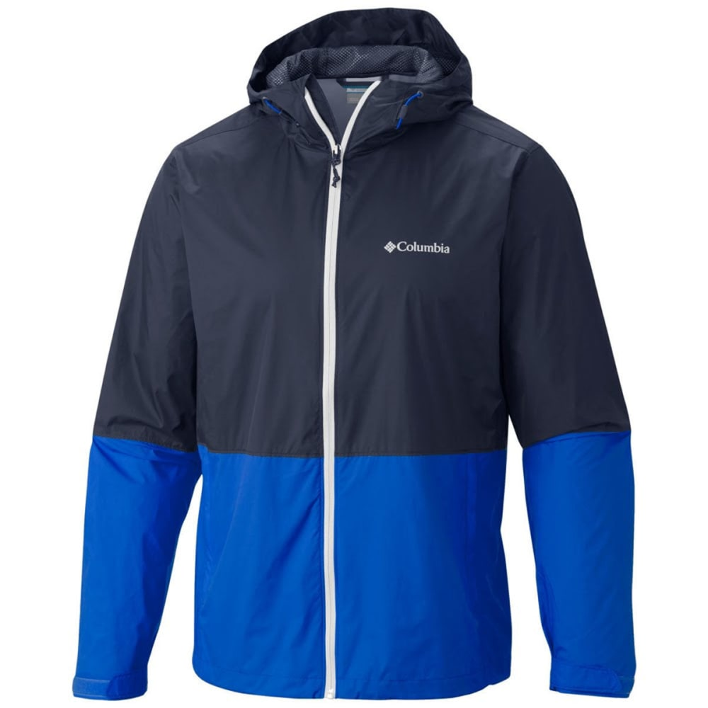 COLUMBIA Men's Roan Mountain Jacket - ULTRA BLUE/WHITE/BLA